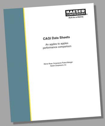 Kaeser CAGI data sheet