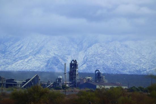 Rillito cement plant in Rillito, Arizona